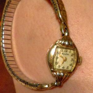 Vintage Ladie's Bulova Gold Watch